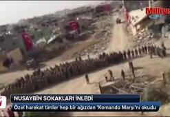 Nusaybin komando marşıyla inledi