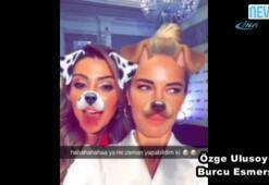 Ünlülerin güldüren Snapchat halleri