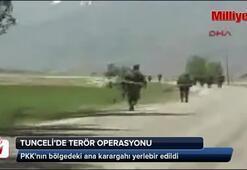 PKKnın bölgedeki ana karargahı yerlebir edildi