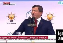 Davutoğlu helallik istedi