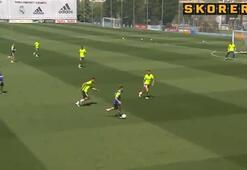 Ronaldo verdi, Benzema bitirdi