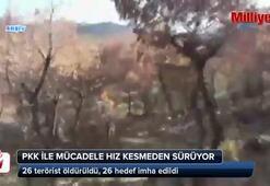 PKK'yla mücadele hız kesmeden sürüyor