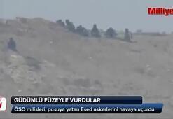 Esad askerlerini havaya uçurdular