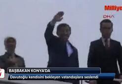 Başbakan Ahmet Davutoğlu Konyada
