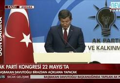 Ahmet Davutoğlu flaş açıklamayı yaptı