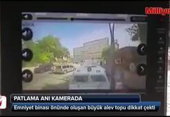 Gaziantepteki patlama anı kamerada