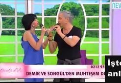 Songül, Esra Erola çıktı Demir ile düet yaptı