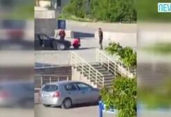 Ankarada polisten tepki çeken uygulama