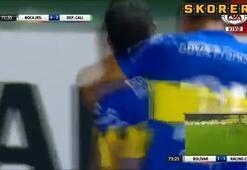 Carlos Tevezden çaresiz bırakan frikik