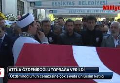 Attila Özdemiroğlu son yolculuğuna uğurlandı