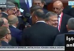 Ahmet Davutoğlunu ilk tebrik eden Deniz Baykal oldu
