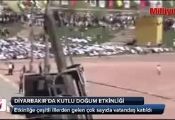 Diyarbakırda Kutlu Doğum Haftası için binler buluştu