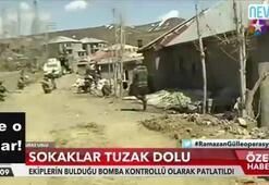 Nazlı Çelik, PKKlıların kazdığı tünele girdi