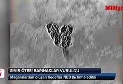 TSK PKKyı bu kez NEB ile vurdu