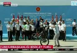 Erdoğan hayranlıkla izledi