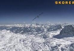 300 km hızla tehlikeli slalom