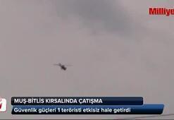 Muş-Bitlis kırsalında çatışma