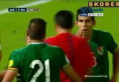 Arjantin maçında skandal penaltı kararı