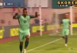Nani ve Ronaldo Portekizi sırtladı