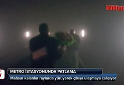 Metro istasyonunda büyük patlama