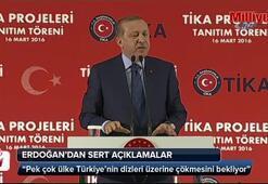 Cumhurbaşkanı Erdoğandan sert açıklama