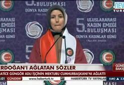 Erdoğanı ağlatan mektup