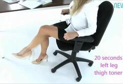 Kadınlara ofiste egzersiz önerileri