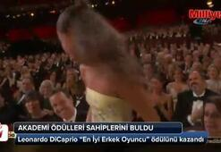 DiCaprio nihayet Oscar'a uzandı