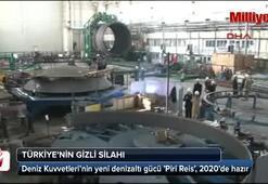 Piri Reis denizaltısı 2020'de hazır