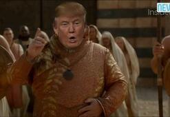 Game of Thronesda Donald Trump sürprizi