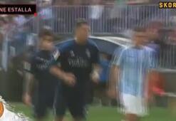 Ronaldo kaçırdı, Ziadane çıldırdı