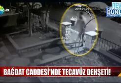 Bağdat Caddesindeki sapık vahşeti kamerada