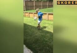 6 yaşında devleri peşine taktı