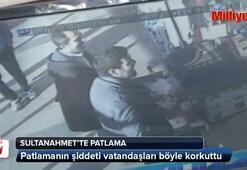 Sultanahmet Meydanındaki patlamada vatandaşları böyle korkuttu