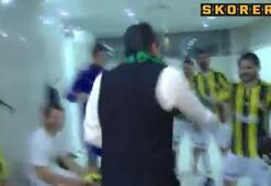Fenerbahçe soyunma odasında Beşiktaş tezahüratları