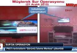 PKKlı teröristlerin Görüntü İzleme Merkezi çökertildi