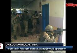 Teröristlerden Surda kameralı tuzak
