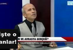 Yaşar Nuri Öztürk: Putinde mumin kokusu var