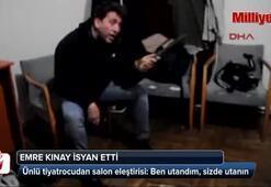 Emre Kınay isyan etti: Utanıyorum, umarım siz de utanmışsınızdır
