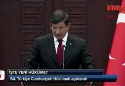 64. Türkiye Cumhuriyeti Hükümeti açıklandı