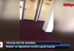 Okulda seks skandalı