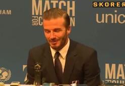 Beckham kırdı geçirdi...