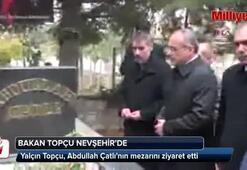 Bakan Topçu, Abdullah Çatlının mezarını ziyaret etti