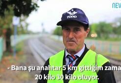 Tren yolu bekçisi 20 yıl sonra tatile gidecek
