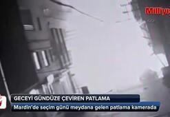 Mardindeki korkunç patlama kamerada
