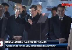Başbakan Davutoğlundan 1 Kasım açıklaması