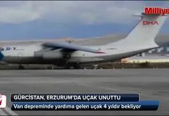 Gürcistan, Erzurumdaki uçağını unuttu