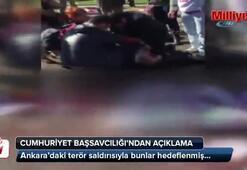 Ankaradaki terör saldırısıyla ilgili açıklama