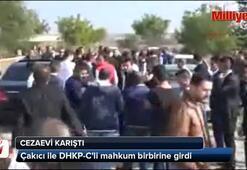 Alaattin Çakıcı ile DHKP-Cli mahkum birbirine girdi