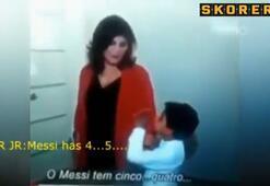 CR7nin oğlundan Messi sözleri